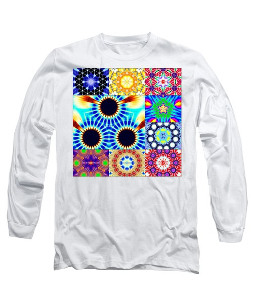432hz Cymatics Grid Long Sleeve T-Shirt
