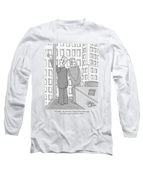 I'll Confess Long Sleeve T-Shirt