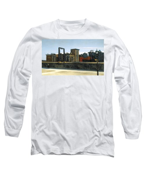 Manhattan Bridge Loop Long Sleeve T-Shirt