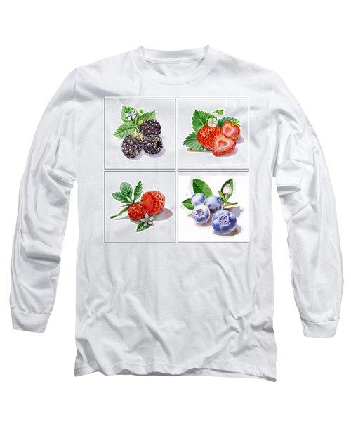 Farmers Market Delight  Long Sleeve T-Shirt