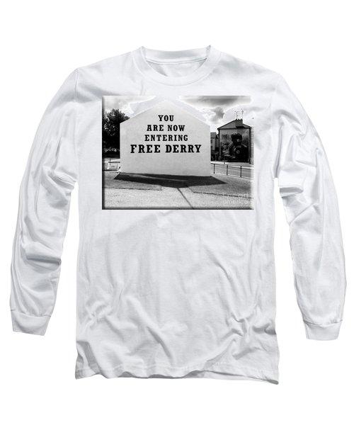 Free Derry Corner 5 Long Sleeve T-Shirt