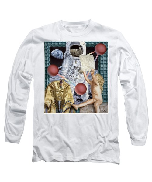 Instructions Long Sleeve T-Shirt by Rich Milo