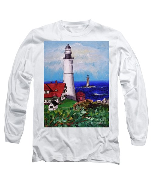 Lighthouse Hill Long Sleeve T-Shirt