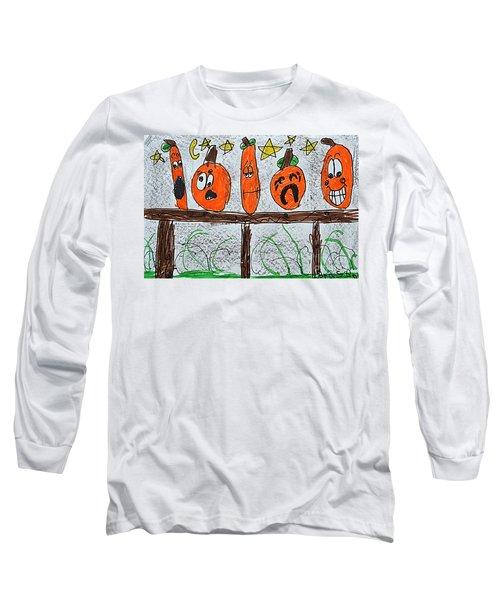 5 Little Pumpkins Long Sleeve T-Shirt
