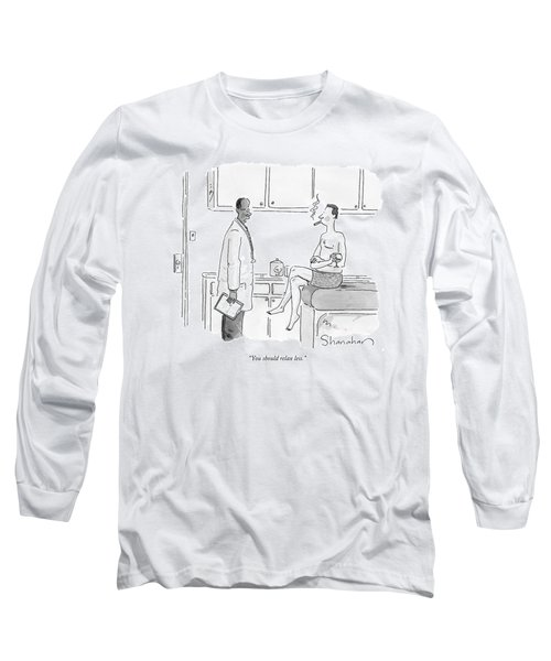You Should Relax Less Long Sleeve T-Shirt