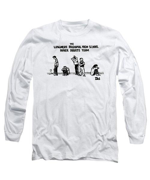 The Langmore Regional High School Inner Debate Long Sleeve T-Shirt