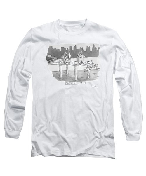 New Yorker August 11th, 2008 Long Sleeve T-Shirt