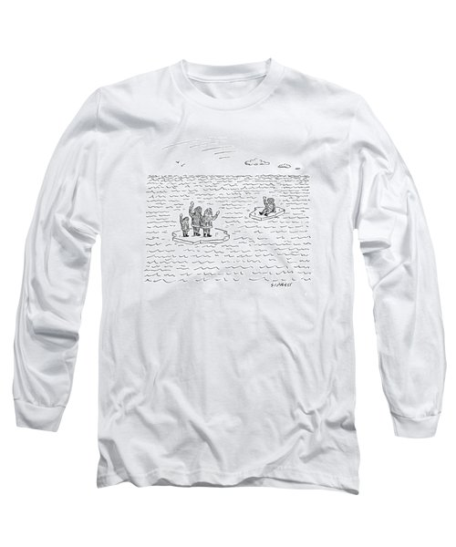 New Yorker July 21st, 2008 Long Sleeve T-Shirt