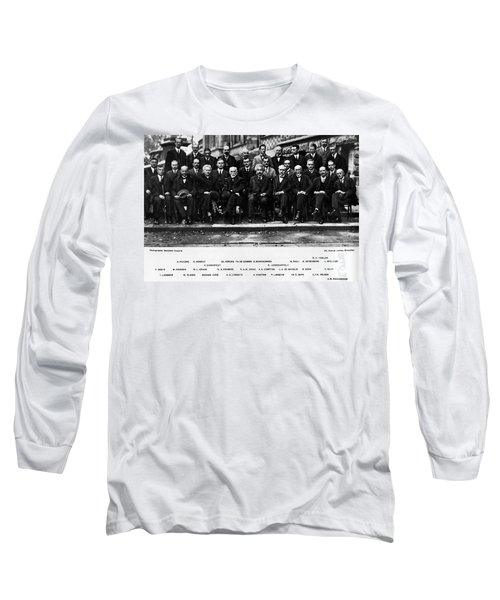 5th Solvay Conference Of 1927 Long Sleeve T-Shirt
