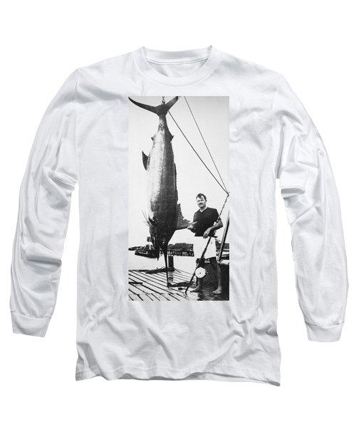 Ernest Hemingway (1899-1961) Long Sleeve T-Shirt