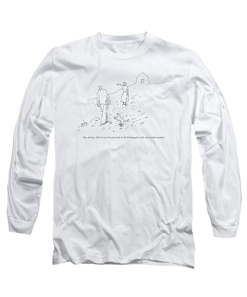 Bye, Darling.  Don't Let Our Love Grow Dim Long Sleeve T-Shirt
