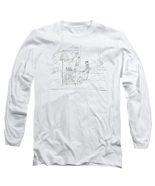 Captionless Long Sleeve T-Shirt