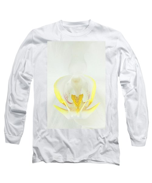 White Orchid-3 Long Sleeve T-Shirt