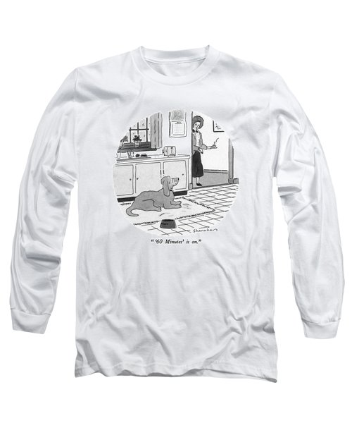 '60 Minutes' Is On Long Sleeve T-Shirt