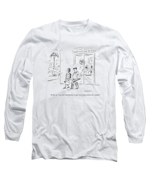 As Far As I Can Tell Long Sleeve T-Shirt