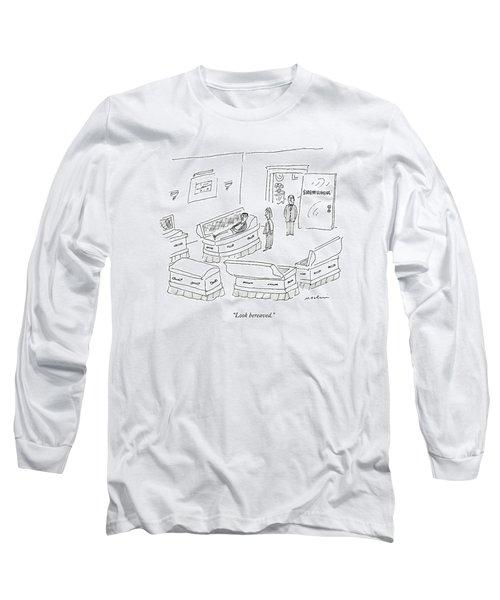 Look Bereaved Long Sleeve T-Shirt