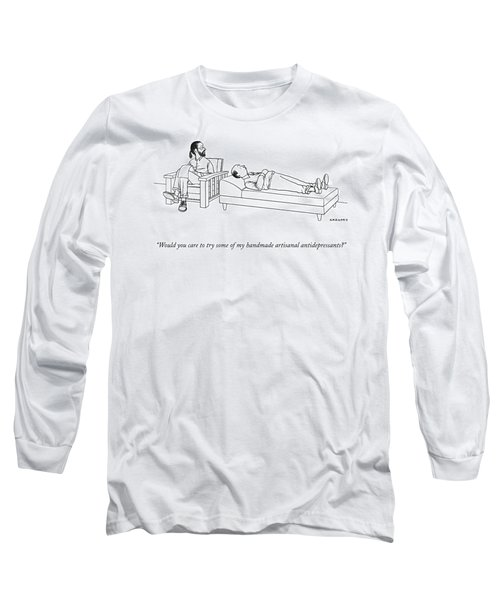 Would You Care To Try Some Of My Handmade Long Sleeve T-Shirt