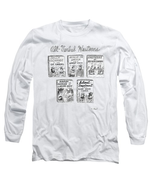 All-verbal Westerns Long Sleeve T-Shirt