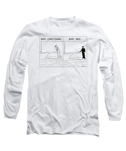 New Yorker January 17th, 2000 Long Sleeve T-Shirt