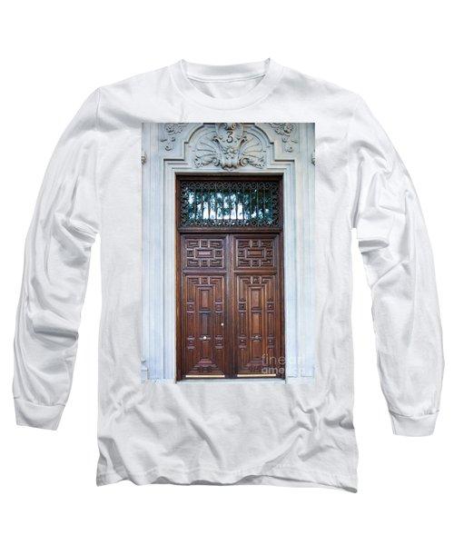 Distinctive Doors In Madrid Spain Long Sleeve T-Shirt