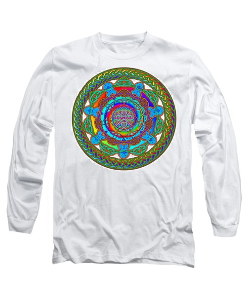 7 Fish Rainbow Yahushuah Messiah Long Sleeve T-Shirt