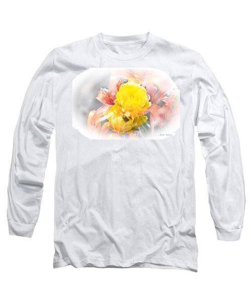 Flower Burst Long Sleeve T-Shirt