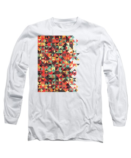 Geometric Art Long Sleeve T-Shirt