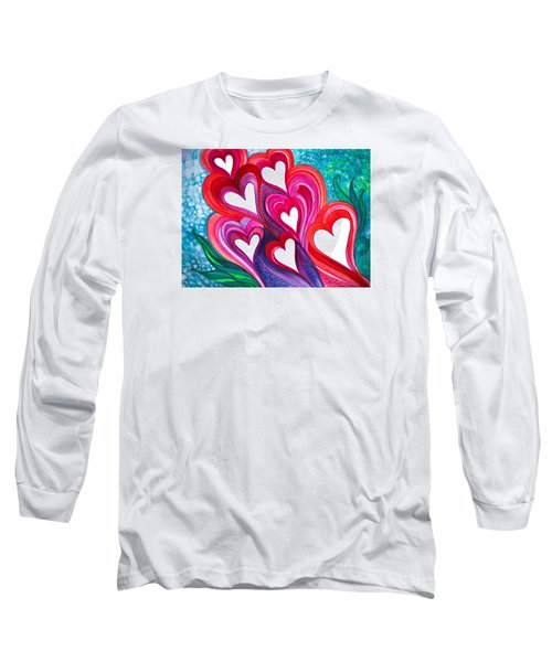 7 Hearts Long Sleeve T-Shirt