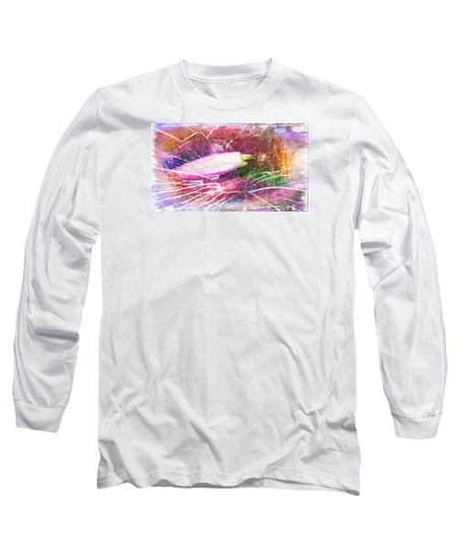 Orchid Buds In Abstract  Long Sleeve T-Shirt