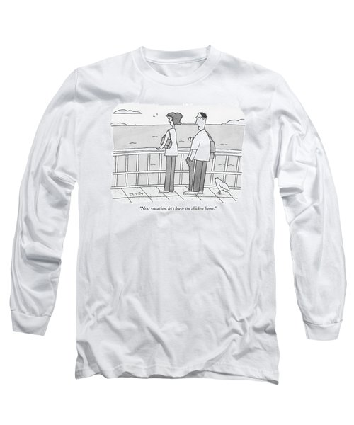 Next Vacation Long Sleeve T-Shirt