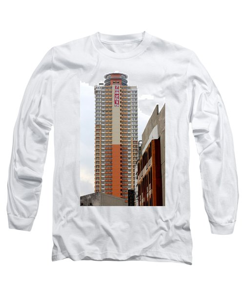 Long Sleeve T-Shirt featuring the photograph 7082515 Building by Ester  Rogers