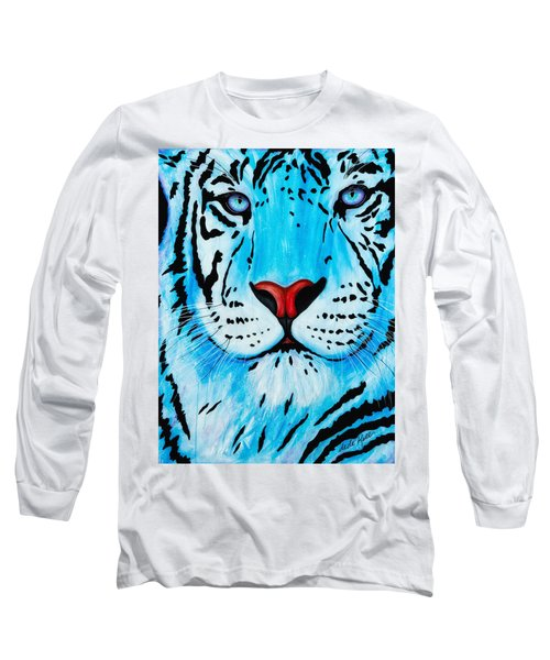 Blue Bengal Long Sleeve T-Shirt