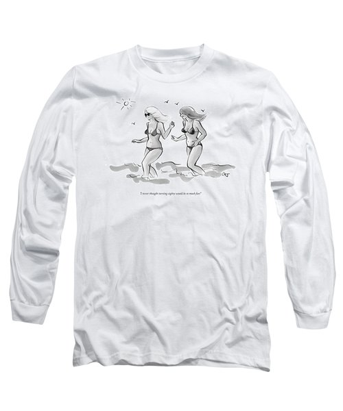 I Never Thought Turning Eighty Would Be So Much Long Sleeve T-Shirt