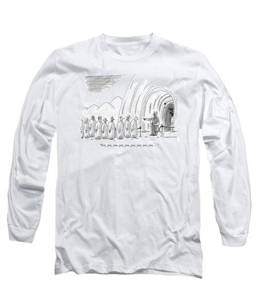 You, You, You, You, You, You, You, You, You Long Sleeve T-Shirt
