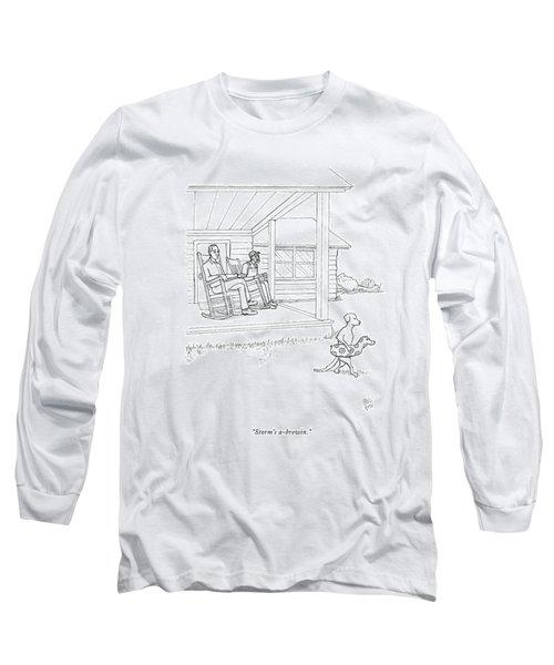 Storm's A-brewin Long Sleeve T-Shirt