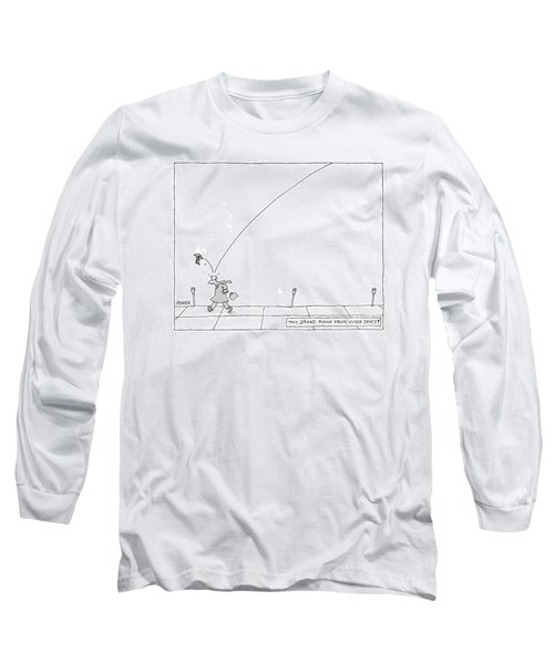 Tiny Grand Piano From Outer Space! Long Sleeve T-Shirt