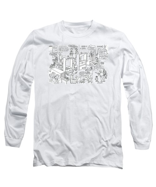 New Yorker November 27th, 2006 Long Sleeve T-Shirt