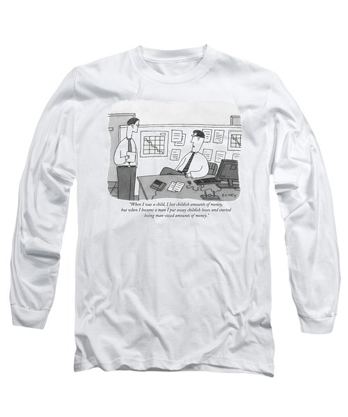 When I Was A Child Long Sleeve T-Shirt