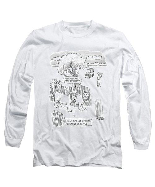 New Yorker April 24th, 2000 Long Sleeve T-Shirt