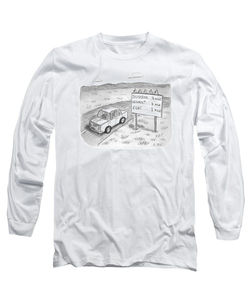 New Yorker August 1st, 2016 Long Sleeve T-Shirt