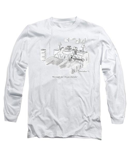 Not Tonight Long Sleeve T-Shirt