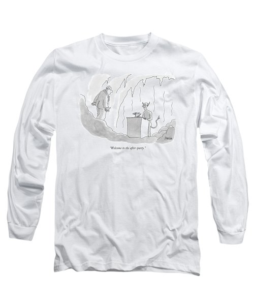 Welcome To The After-party Long Sleeve T-Shirt