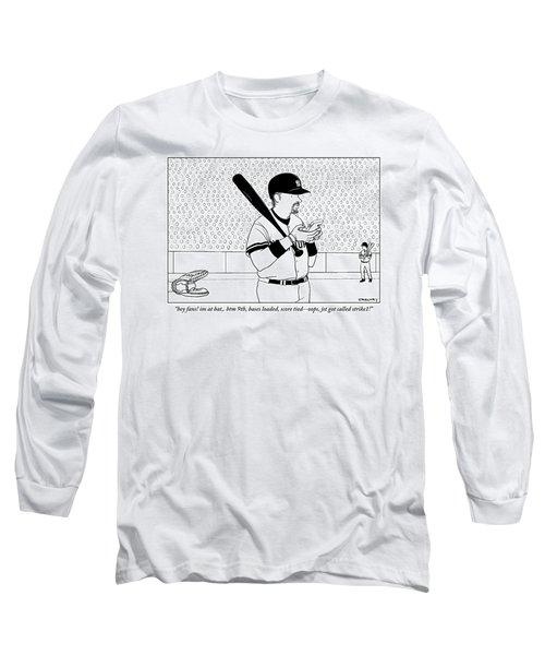 A Baseball Player Yankees Twitters Long Sleeve T-Shirt