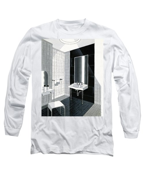 A Bathroom For Kohler By Ely Jaques Kahn Long Sleeve T-Shirt