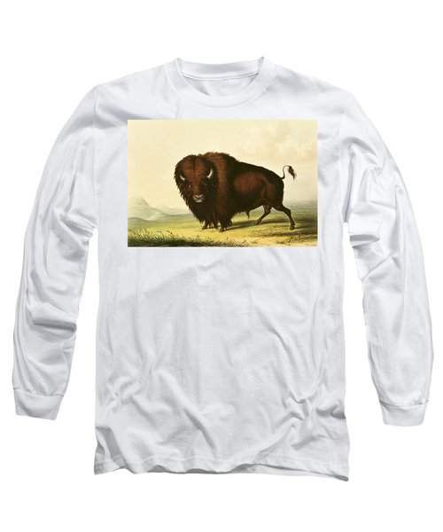 A Bison Long Sleeve T-Shirt