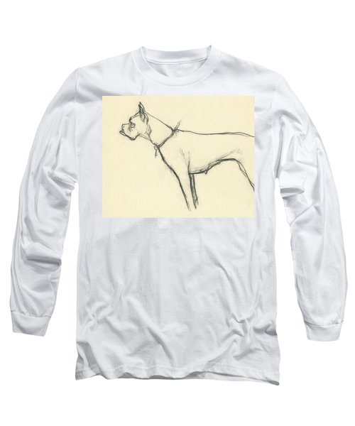 A Boxer Dog Long Sleeve T-Shirt