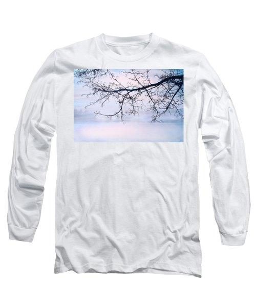 A Breathing Too Quiet To Hear Long Sleeve T-Shirt by Theresa Tahara