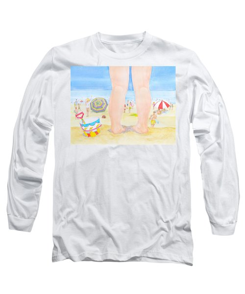 A Child Remembers The Beach Long Sleeve T-Shirt