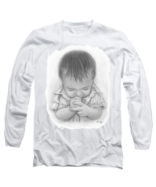 A Child's Payer Long Sleeve T-Shirt