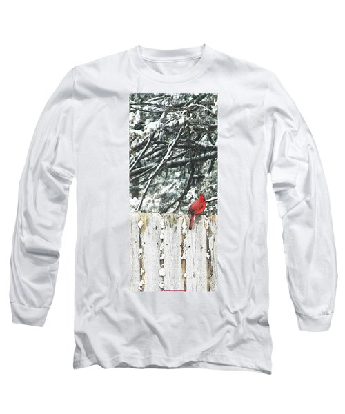 A Christmas Cardinal Long Sleeve T-Shirt